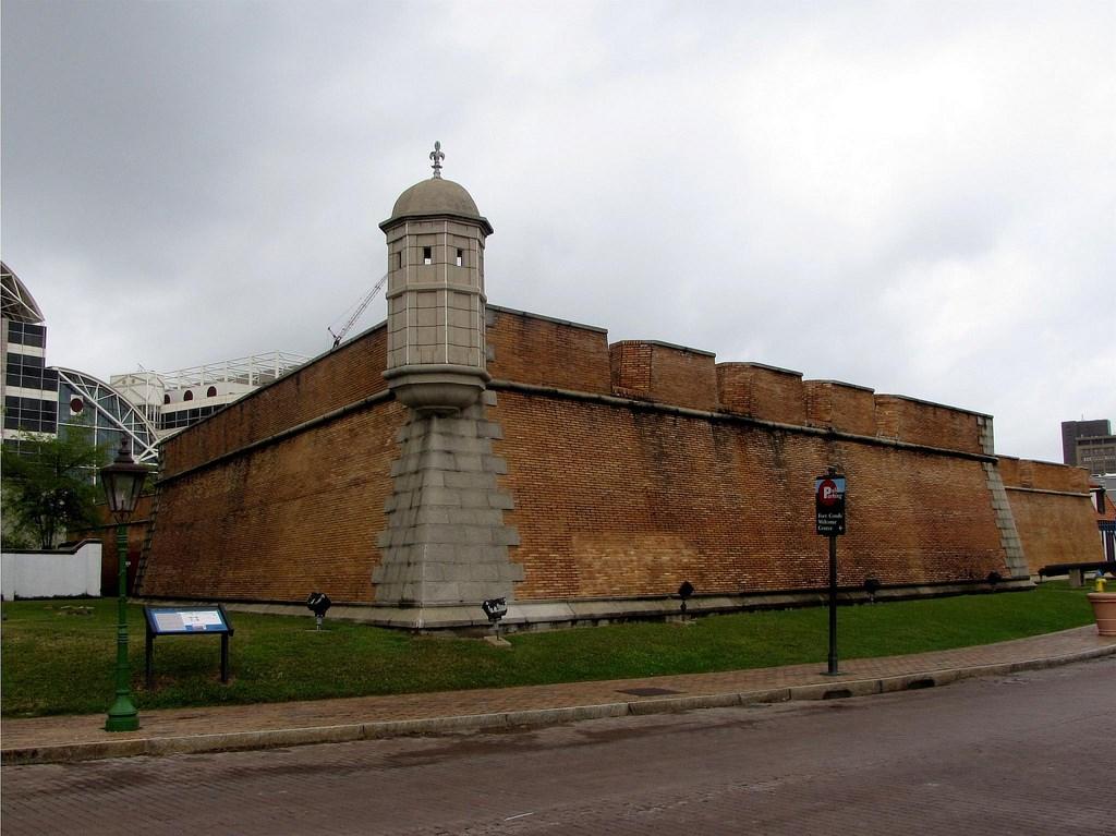 Fort Conde, formerly Fort Charlotte, Mobile, Alabama