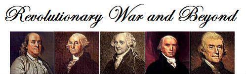 revolutionary war and beyond header
