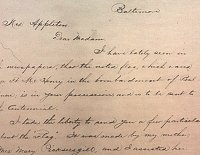 Caroline Purdy letter to Georgiana Appleton, 1876