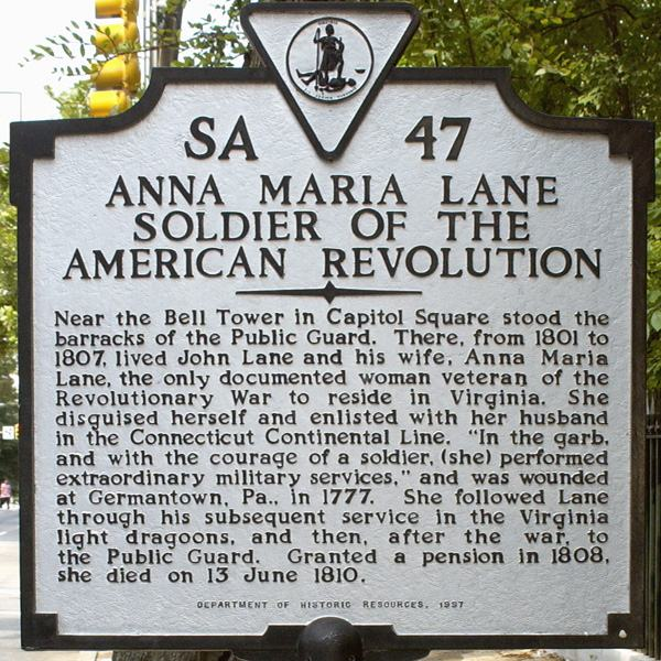 Anna Maria Lane Historical Marker