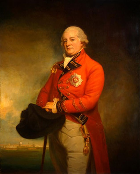 General Archibald Campbell by George Romney