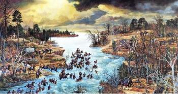 Battle of Cowan's Ford by David Teague