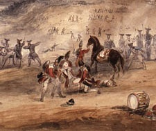 Battle of Saint Foy by George Campion
