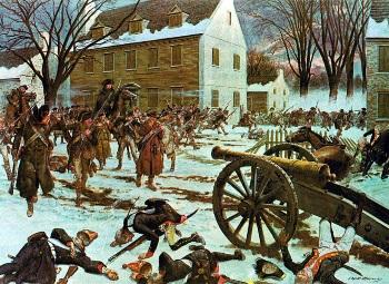 Battle of Trenton by Charles McBarron