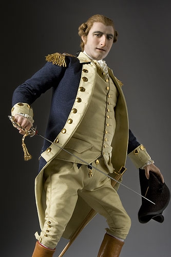 Benedict Arnold figurine by George Stuart