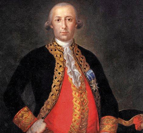 Governor Bernardo de Galvez