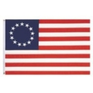 Betsy Ross Embroidered Flag
