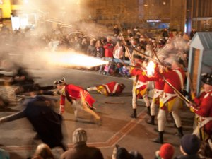 Boston Massacre reenactment