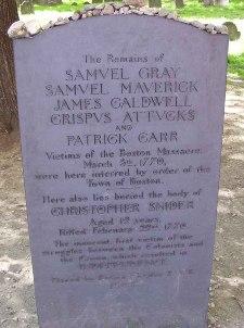 Christopher Seider grave