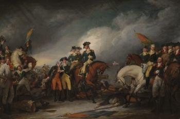 The Capture of the Hessians at Trenton by John Trumbull