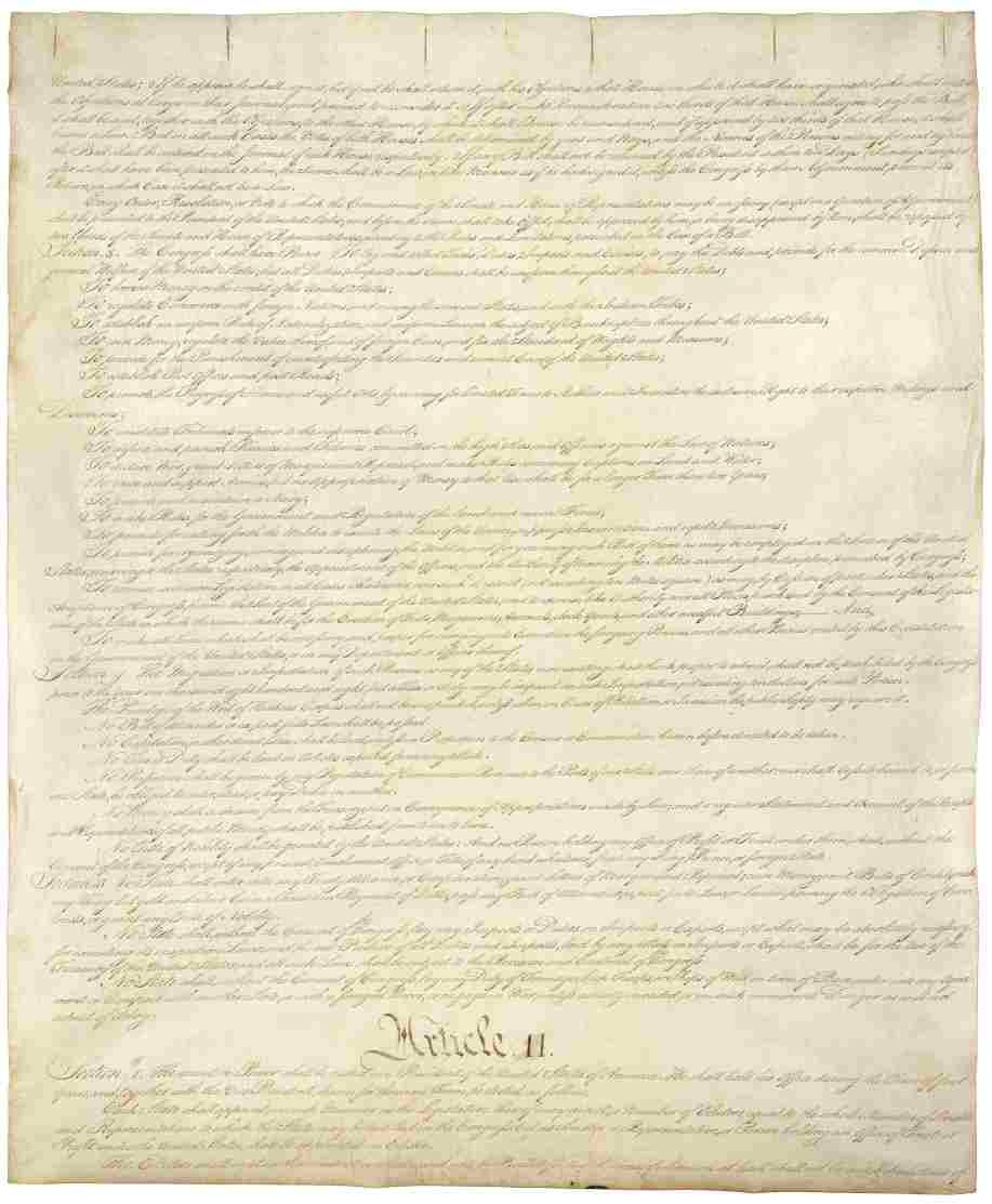 constitution of the united states of america pdf