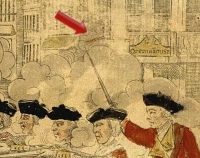 Custom House window gun at the Boston Massacre