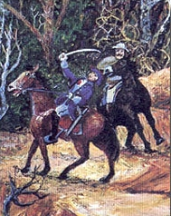 Death of General William Lee Davidson at the Battle of Cowan's Ford