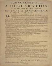 Declaration of Independence Dunlap Broadside