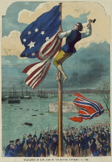 Evacuation of New York by the British, November 25, 1783