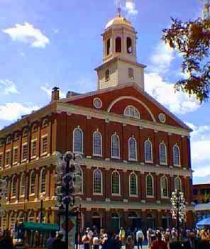 Faneuil Hall - Boston, Massachusetts