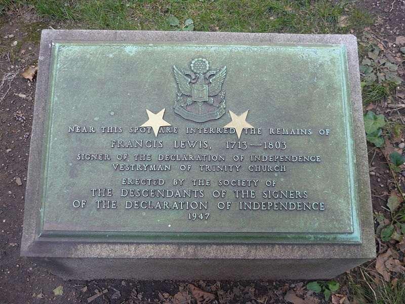 Francis Lewis grave