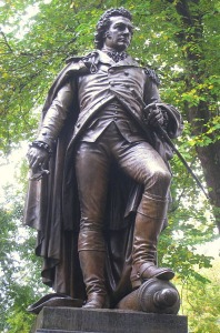 General John Glover Statue