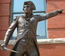 General John Stark statue - Manchester Park - Manchester, New Hampshire