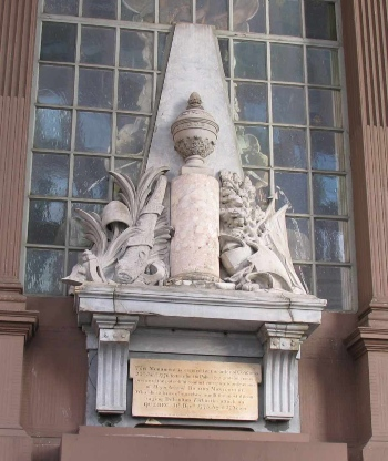 General Richard Montgomery Monument, St. Paul's Chapel, New York City