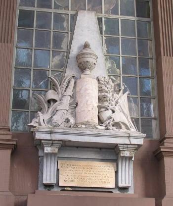 General Richard Montgomery Monument, St. Paul's Chapel, New York City