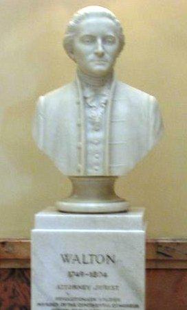 George Walton Bust