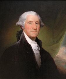 George Washington Portrait by Gilbert Stuart, 1795