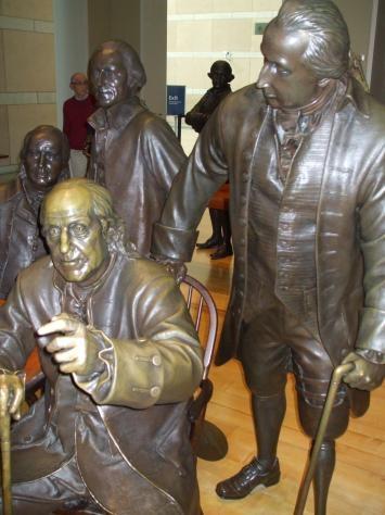 Gouverneur Morris Statue, National Constitution Center