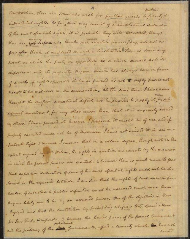 how to type a letter letter to jefferson october 17 1788 1788