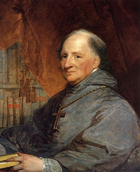 Bishop John Carroll by Gilbert Stuart