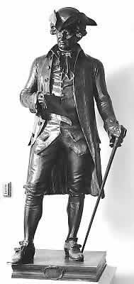 John Hanson Statue, Statuary Hall, US Capitol
