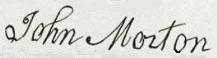 John Morton Signature