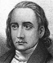 Portrait of John Penn, Signer of the Declaration of Independence from North Carolina