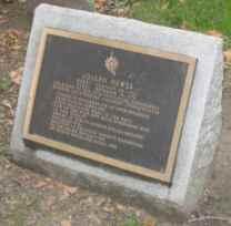 Joseph Hewes grave marker, Christ Church, Philadelphia