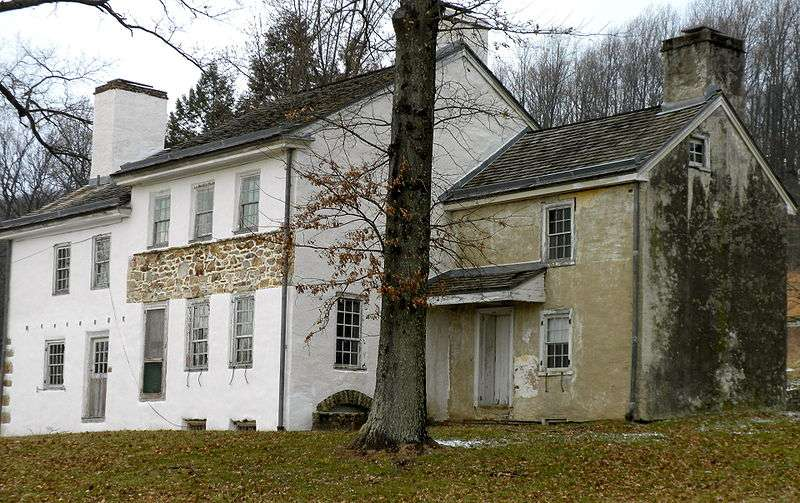 Lord Sterling's Headquarters, Tredyffrin Township, Chester County, Pennsylvania