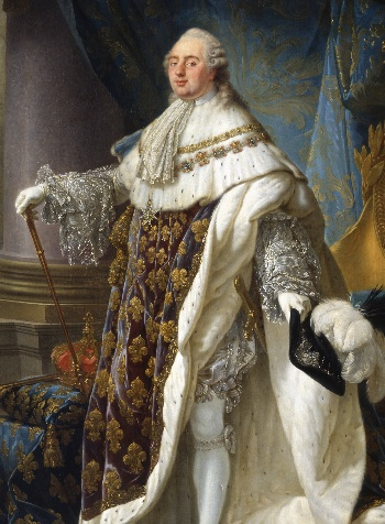 King Louis XVI by Antoine-Francois Callet