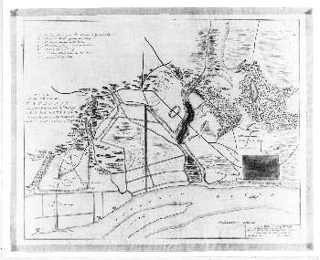 Map of the Capture of Savannah