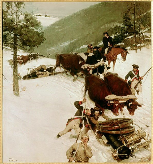 The Noble Train of Artillery by Tom Lovell
