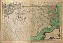 North Carolina Colonial Map