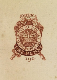 One Penny Stamp - Stamp Act of 1765