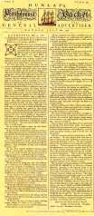 Pennsylvania Packet Declaration of Independence