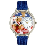 Patriotic Teddy Bear Watch