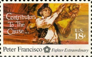 1975 Peter Francisco Stamp