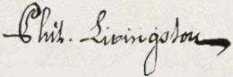 Philip Livingston Signature