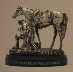 Prayer at Valley Forge Sculpture