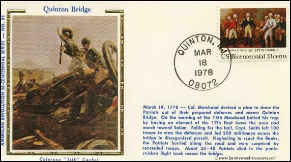 Battle of Quinton's Bridge postcard
