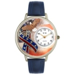 Silver American Patriotic Watch