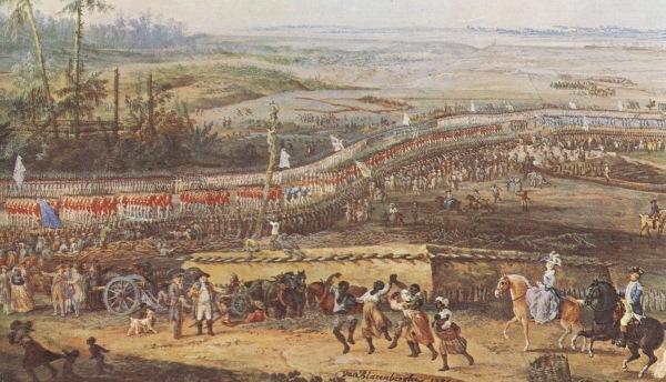 Surrender at Yorktown by Louis Nicolas Van Blarenberghe