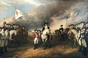 Surrender of Lord Cornwallis at Yorktown by John Trumbull