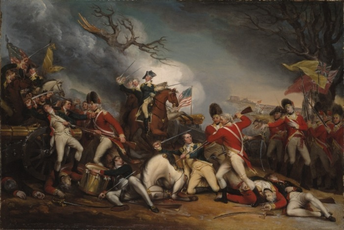 The Death of General Mercer at the Battle of Princeton by John Trumbull